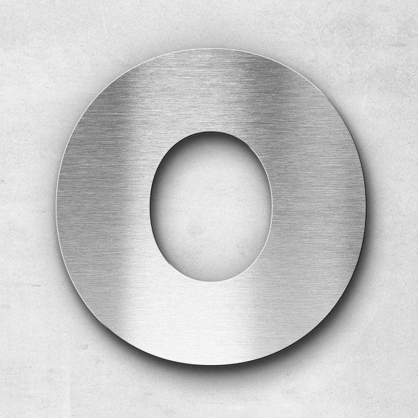Metal Letter O Uppercase - Kontrast Series