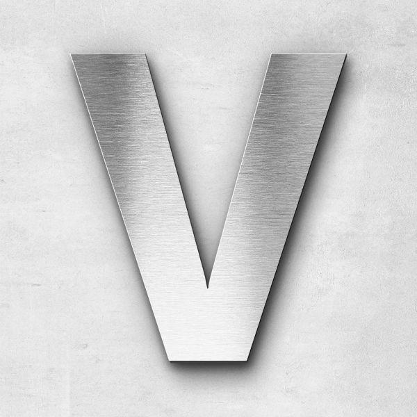 Metal Letter V Uppercase - Sans Series