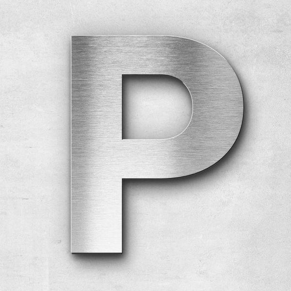 Metal Letter P Uppercase - Sans Series