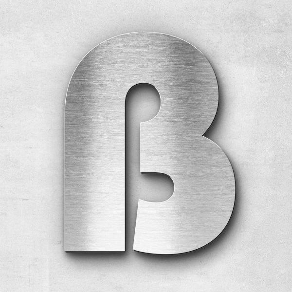 Metal Letter ß Sign - Kontrast Series