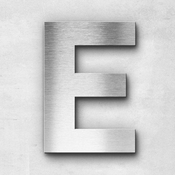 Metal Letter E Uppercase - Sans Series