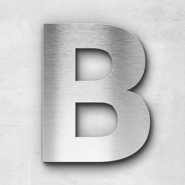 Metal Letter B Uppercase - Sans Series