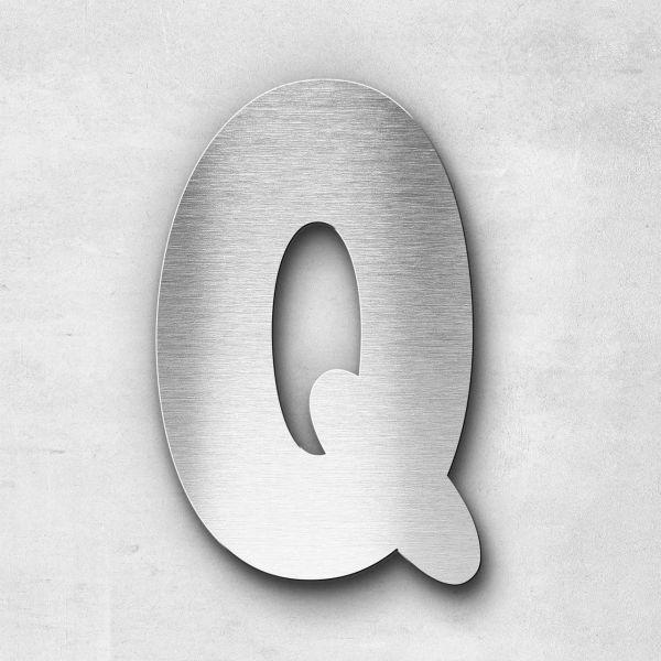 Metal Letter Q Uppercase - Darius Series