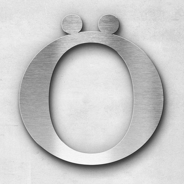 Metal Letter Ö Uppercase - Serif Series