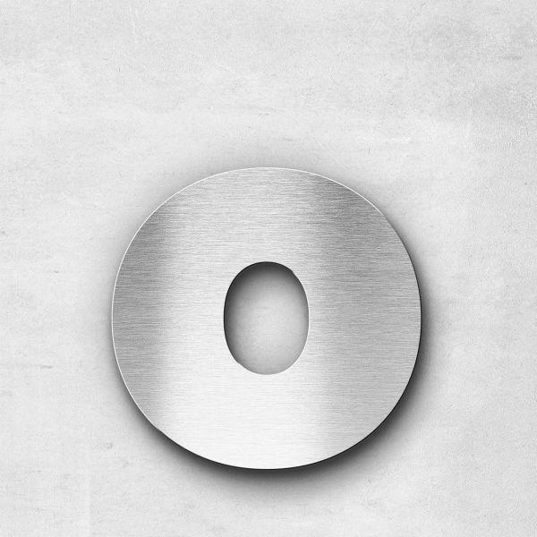 Metal Letter o Lowercase - Kontrast Series