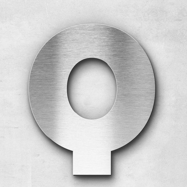Metal Letter Q Uppercase - Kontrast Series