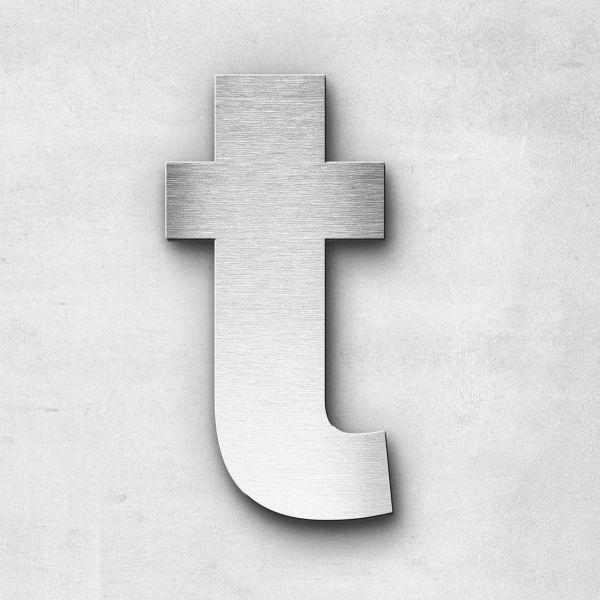Metal Letter t Lowercase - Sans Series