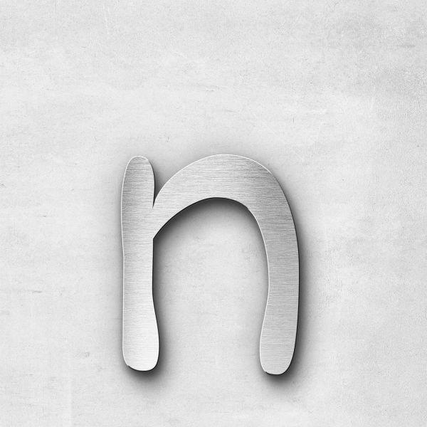 Metal Letter n Lowercase - Malta Series