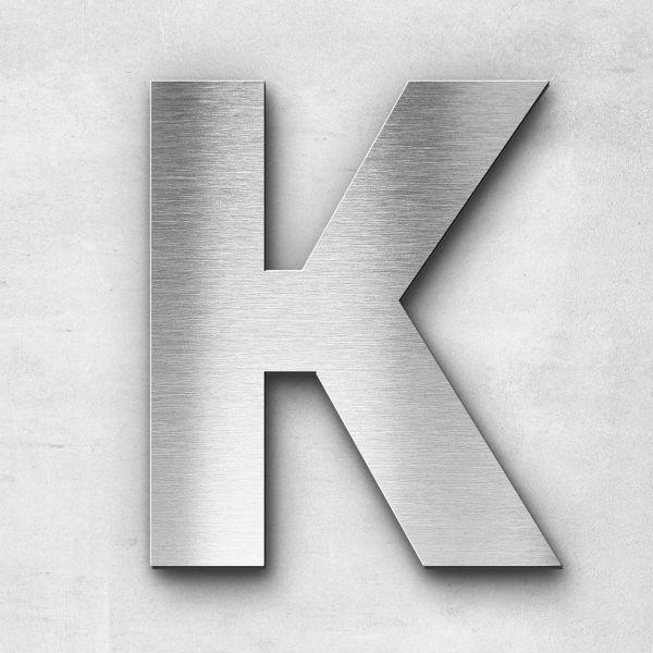 Metal Letter K Uppercase - Sans Series