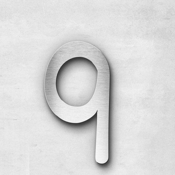 Metal Letter q Lowercase - Malta Series