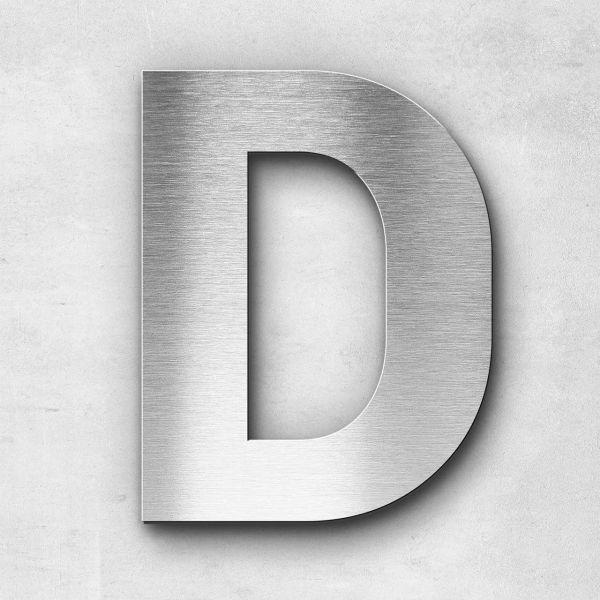 Metal Letter D Uppercase - Sans Series