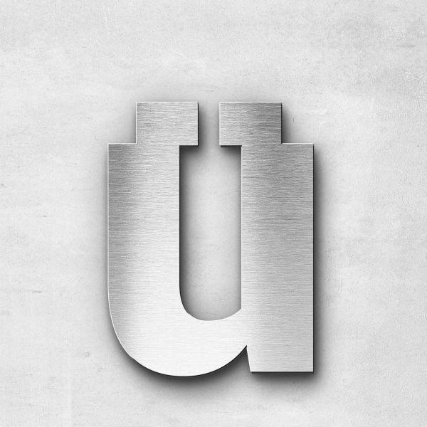 Metal Letter ü Lowercase - Sans Series