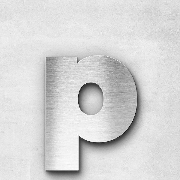 Metal Letter p Lowercase - Kontrast Series