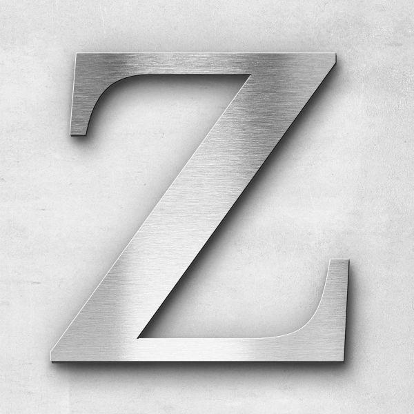 Metal Letter Z Uppercase - Serif Series