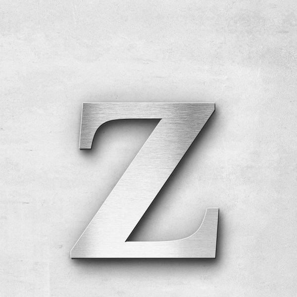 Metal Letter z Lowercase - Serif Series