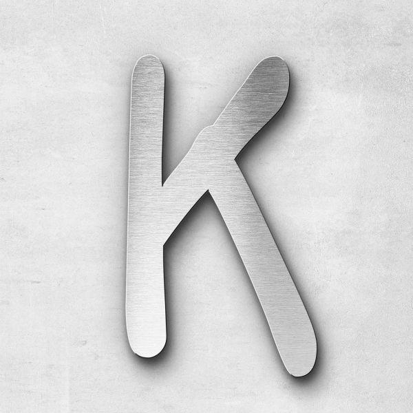 Metal Letter K Uppercase - Malta Series