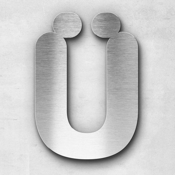 Metal Letter Ü Uppercase - Classic Series