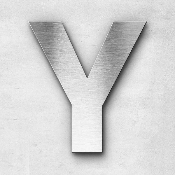 Metal Letter Y Uppercase - Sans Series