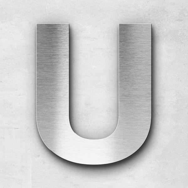 Metal Letter U Uppercase - Sans Series