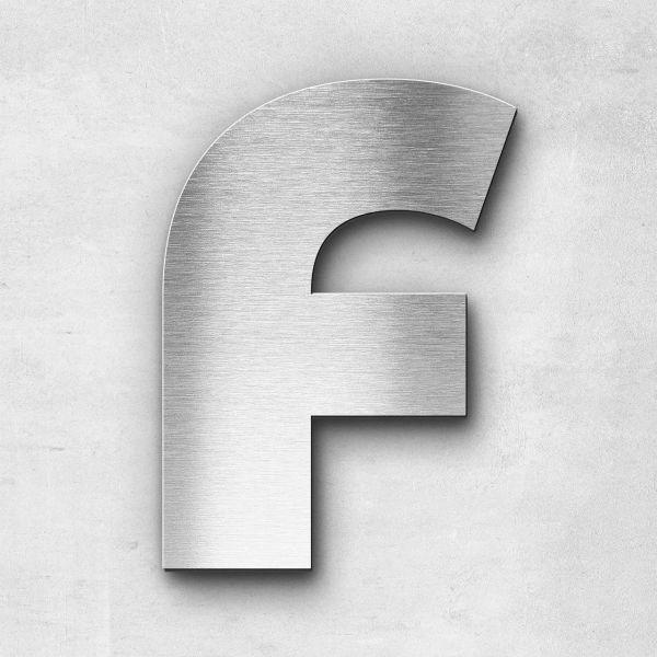 Metal Letter F Uppercase - Kontrast Series