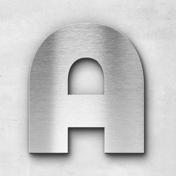 Metal Letter A Uppercase - Kontrast Series