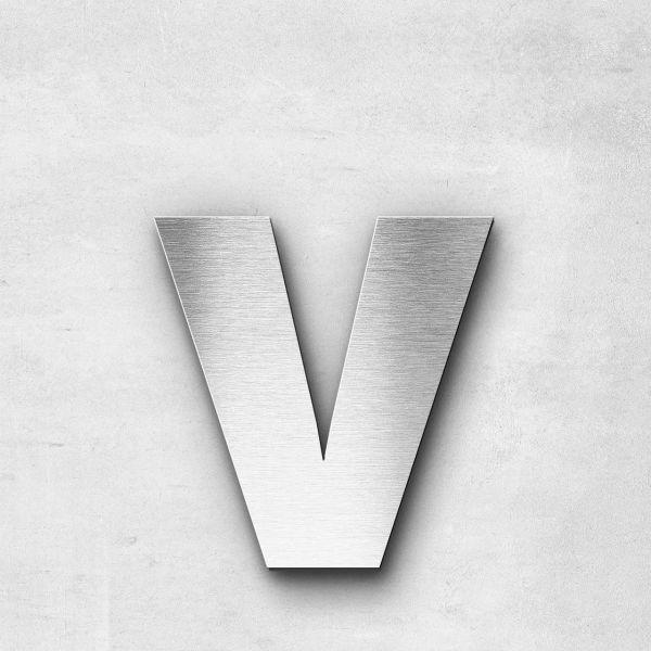 Metal Letter v Lowercase - Sans Series