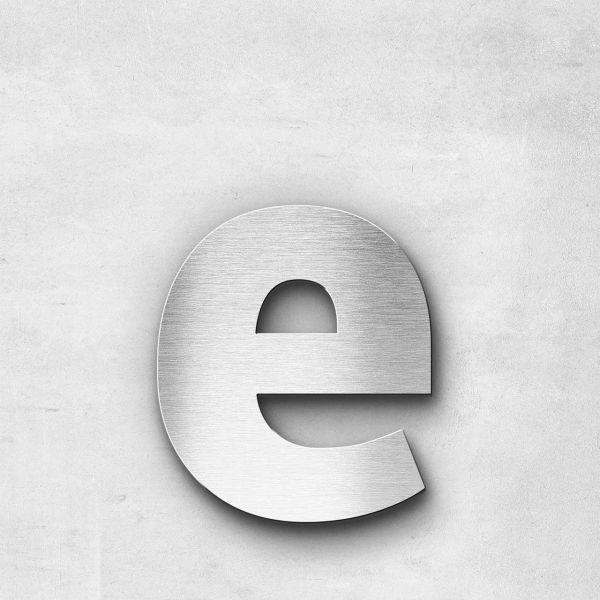 Metal Letter e Lowercase - Sans Series