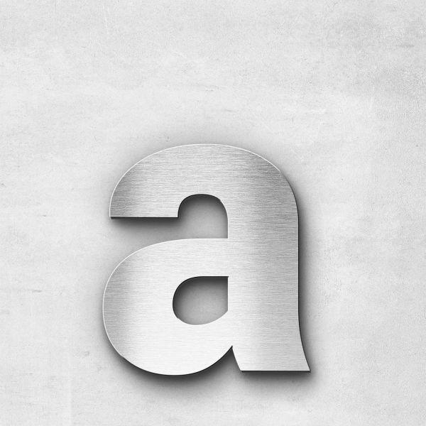 Metal Letter a Lowercase - Sans Series