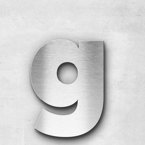 Metal Letter g Lowercase - Kontrast Series