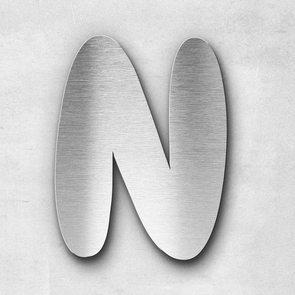 Metal Letter N Uppercase - Darius Series