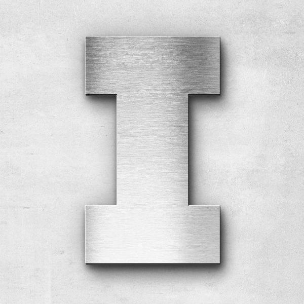 Metal Letter I Uppercase - Kontrast Series