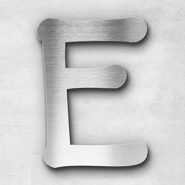 Metal letter E - Series Malta