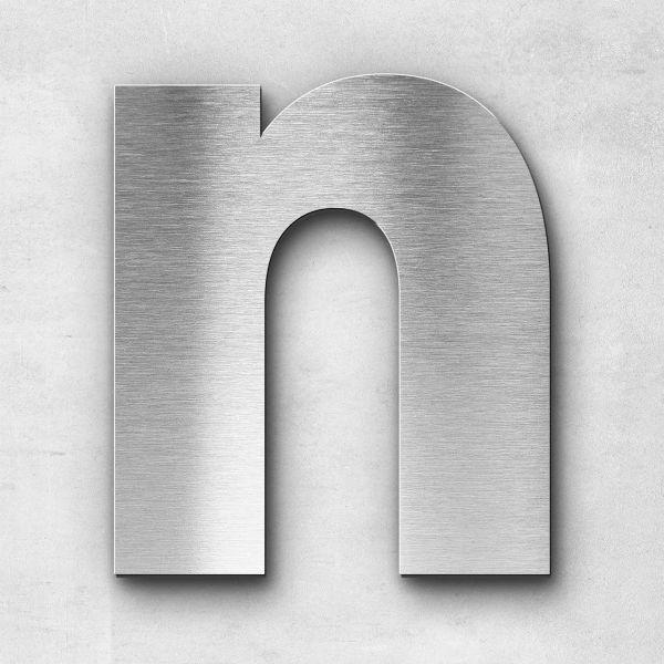Metal Letter N Uppercase - Kontrast Series