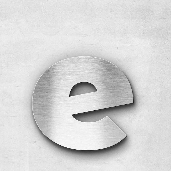 Metal Letter e Lowercase - Kontrast Series