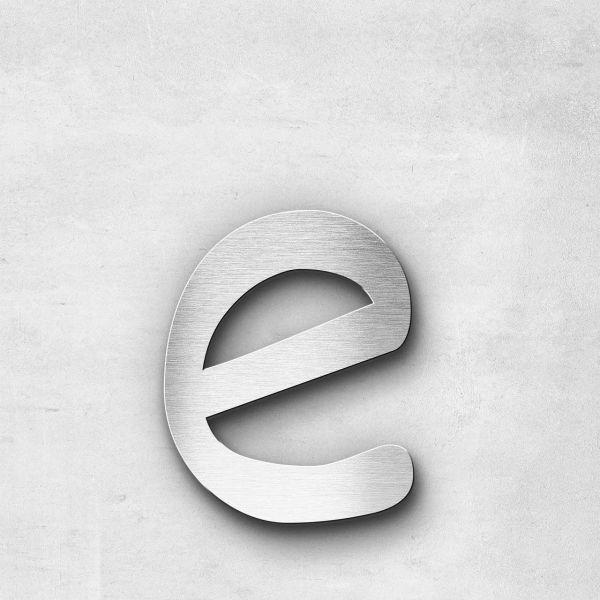 Metal Letter e Lowercase - Malta Series