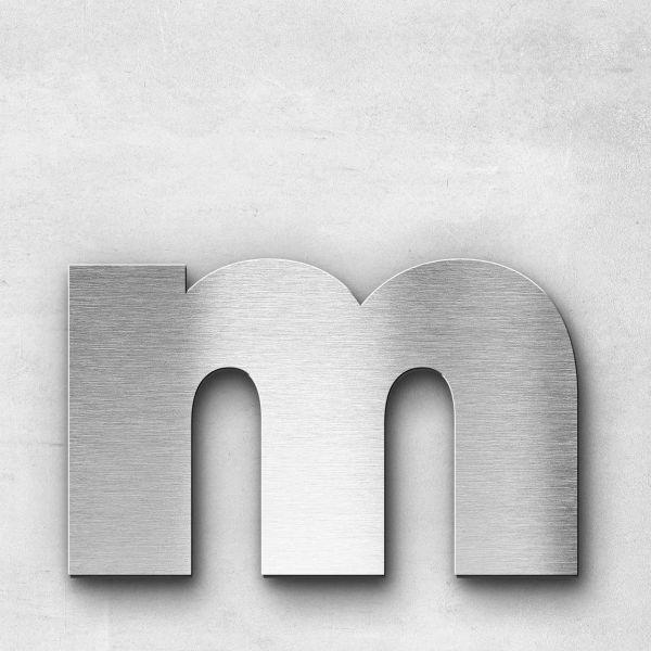 Metal Letter m Lowercase - Kontrast Series