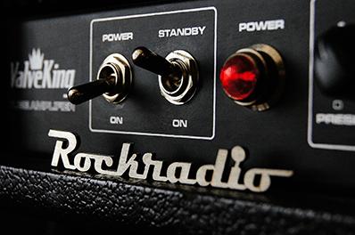 Lettering Rockradio