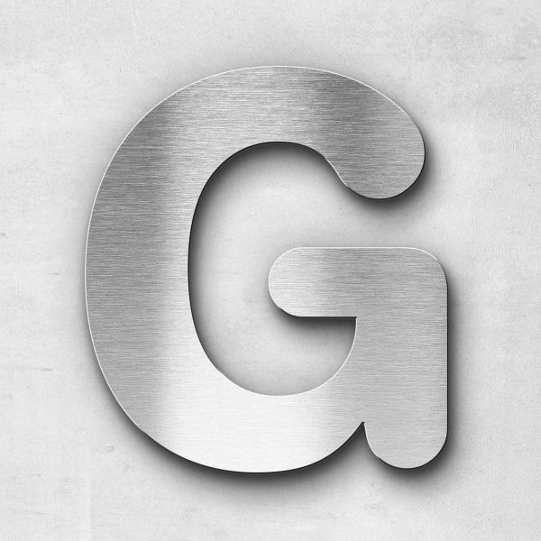 Metal Letter G Uppercase - Classic Series