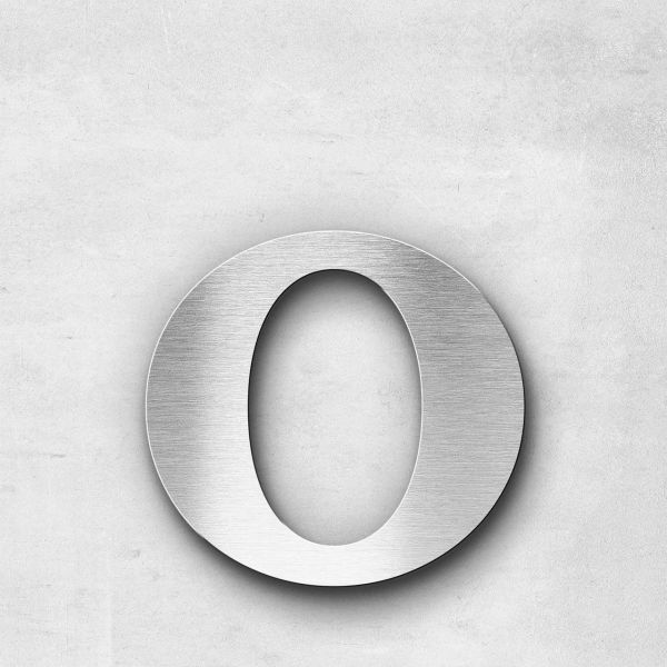 Metal Letter o Lowercase - Serif Series