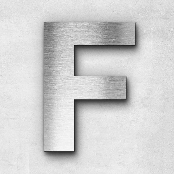 Metal Letter F Uppercase - Sans Series