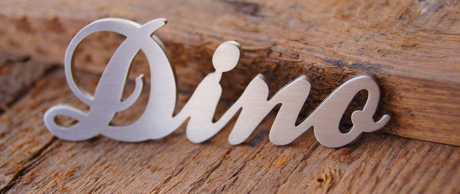 Create Your Custom Lettering Made of Stainless Steel - House Numbers