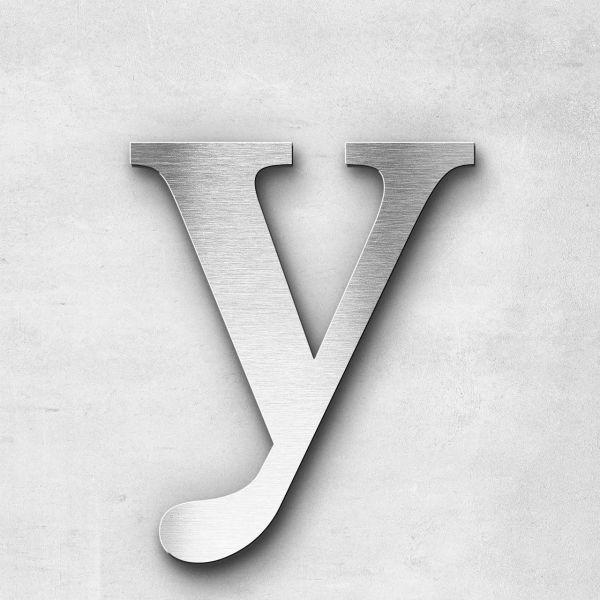 Metal Letter y Lowercase - Serif Series