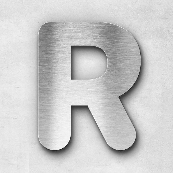 Metal Letter R Uppercase - Classic Series