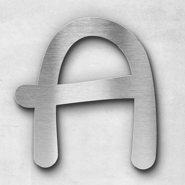 Metal letter A - Series Malta