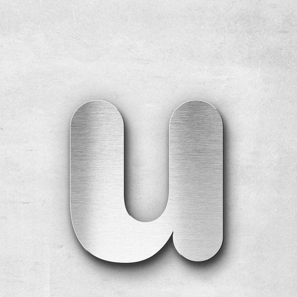 Metal Letter u Lowercase - Classic Series