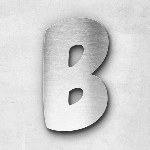 Metal Letter B Uppercase - Darius Series
