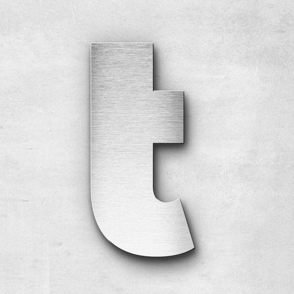 Metal Letter t Lowercase - Kontrast Series