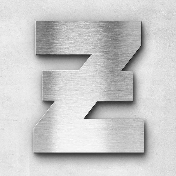 Metal Letter Z Uppercase - Kontrast Series