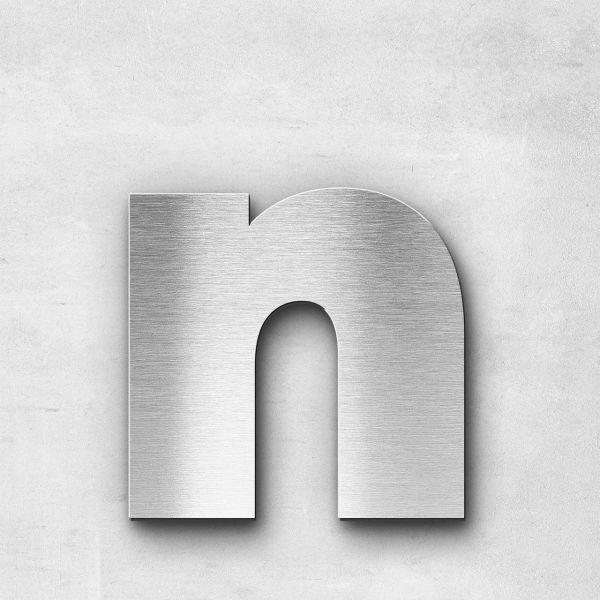 Metal Letter n Lowercase - Kontrast Series