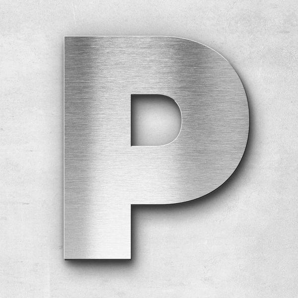 Metal Letter P Uppercase - Kontrast Series
